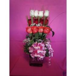 Rosas y Champagne