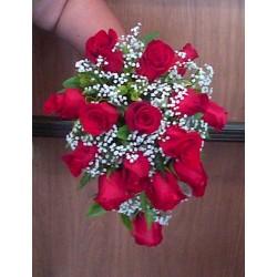 Canasto con 60 rosas